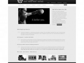 Fitness for Work WordPress Website