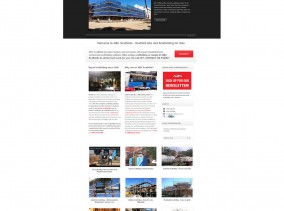 ABC Scaffolds - Trade Business Website using WordPress