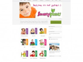 Smarty Plants WordPress Website