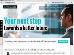 Recruitment Website using Wordpress